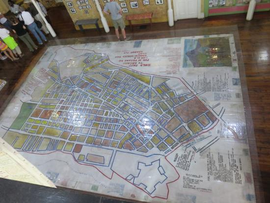 District Six Museum: map of district 6