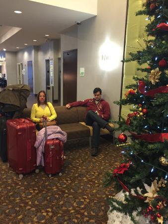 Holiday Inn Detroit Metro Airport : Lobby do hotel