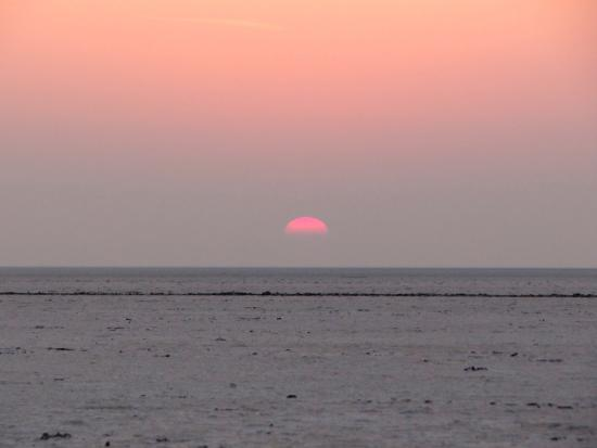 White Desert: Sun Set in the White Rann