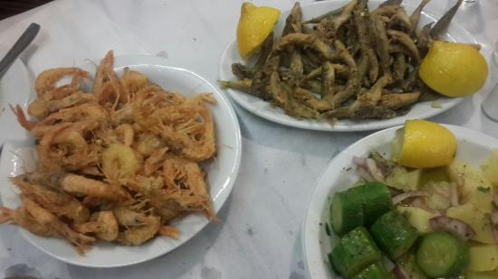 Siros, Grecia: best seafood i have ever eaten!