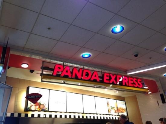 Atlanta Airport Panda Express : 店内