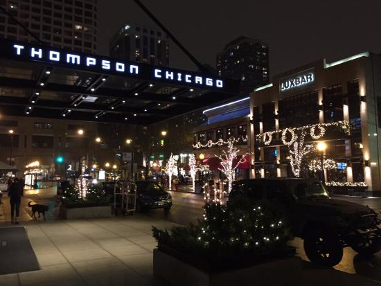 Christmas at the thompson hotel picture of thompson for Thompson hotel chicago