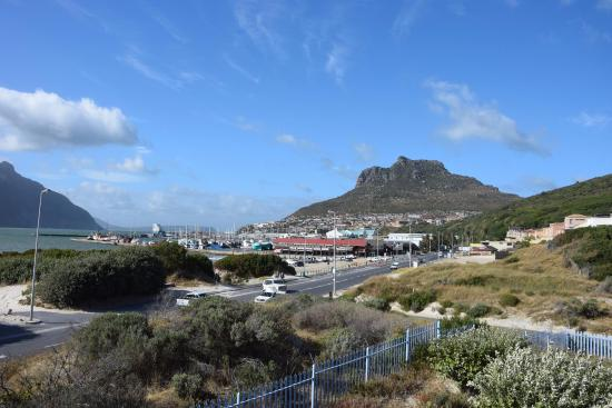 Hout Bay Backpackers: The view from the terrace