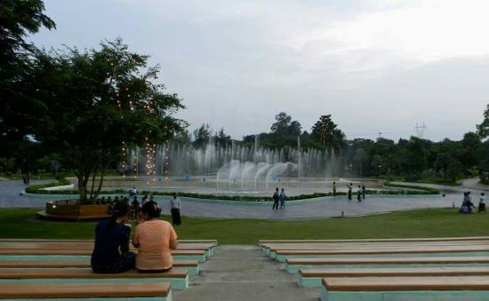 Naypyidaw Water Fountain Garden