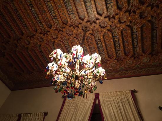 Riad Kniza: Waiting room reception
