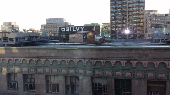 Loews Hotel Vogue: the view