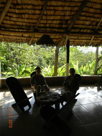 Meru Mbega Lodge : Main gathering area