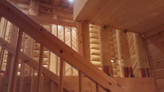 Le Pin Sylvestre : Escaliers