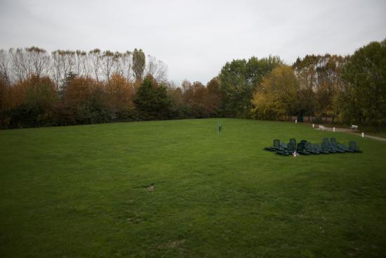BEST WESTERN Golf Hotel: Вид из окна на поле для гольфа