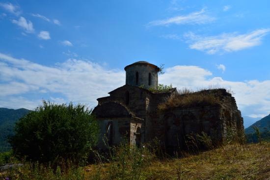 Teberda, روسيا: Сентинский храм