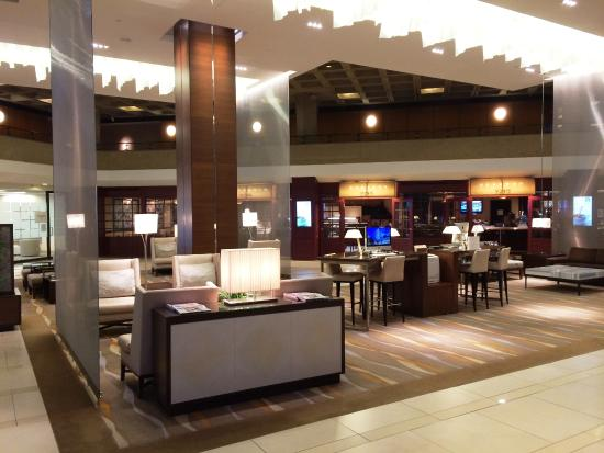 Lobby And Restaurant Picture Of The Westin Kansas City At