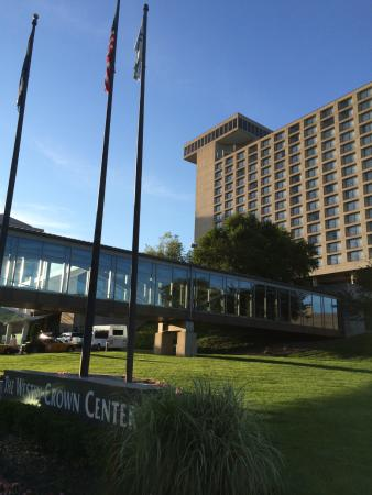 entrance to westin picture of the westin kansas city at crown rh tripadvisor com