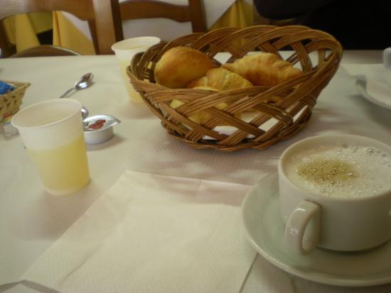Reiter Hotel: comida pasada