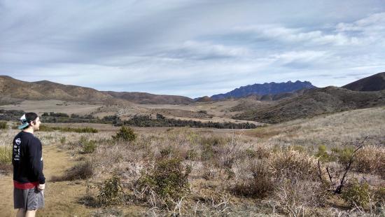 Point Mugu, CA: Meadows at the top
