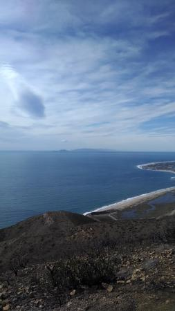 Point Mugu, CA: Going up the mountain