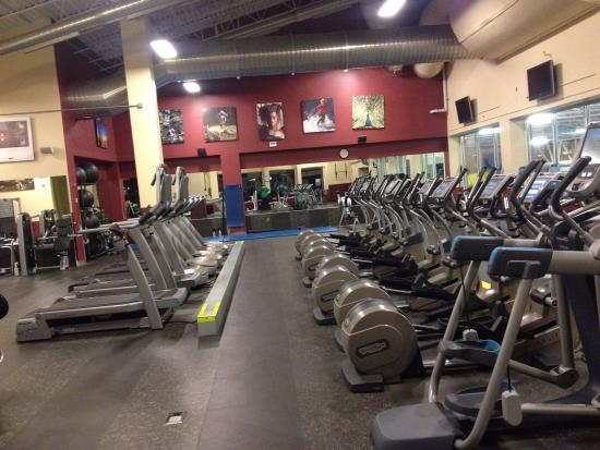 Avon Recreation Center: A side view of some of our cardio equipment