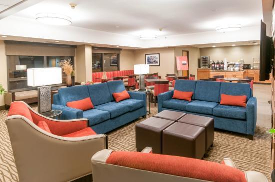 Comfort Inn Quantico: Interior