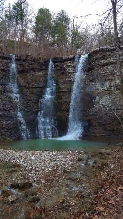 Triple Falls in Newton County