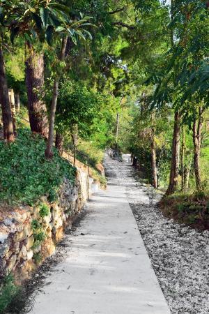 San Martino Sulla Marrucina, Italia: ingresso alla promenade