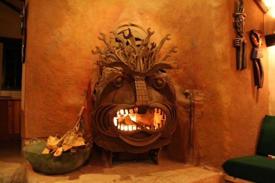 Kuychi Rumi: Esta chimenea nos impactó