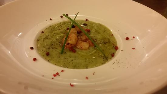 LIFeSTYLE Italian food and style: Zucchini cream with Shrimp