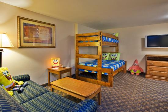 Holiday Inn Hotel & Conference Center: Valdosta, GA  Holiday Inn   Kids Love  Our SpongeBob Family Suites