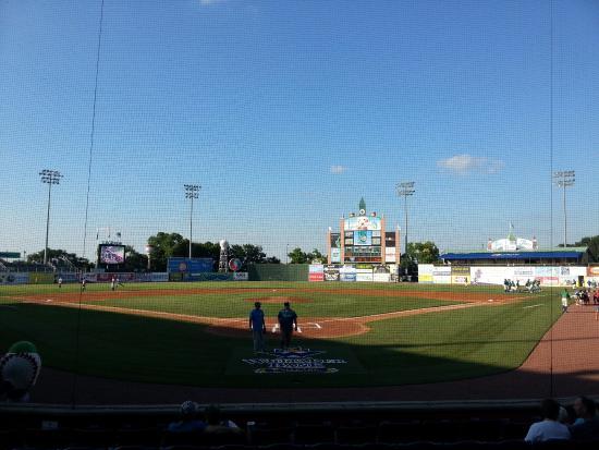 Whitaker Bank Ballpark: Beautiful park