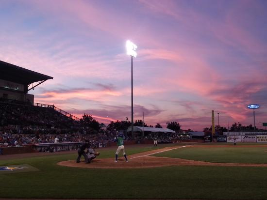 Whitaker Bank Ballpark: Twilight