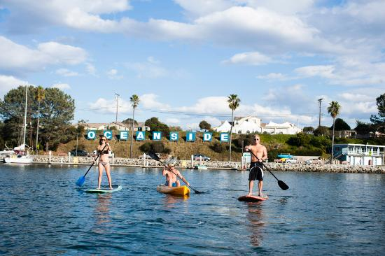 Stand Up Paddle and Kayak in Oceanside Harbor