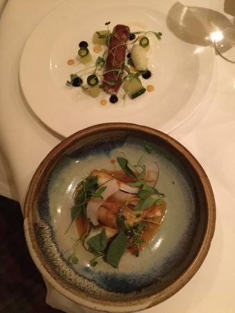 Baslow, UK: Dining excellence