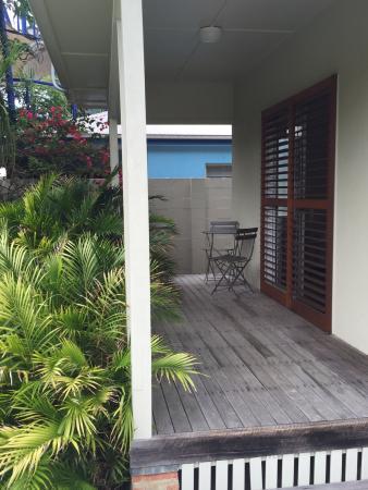 The Cape Beach House : Room Patio