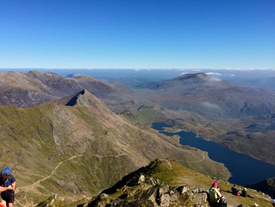 Another stunning view from near the summit - Picture of Snowdon ...