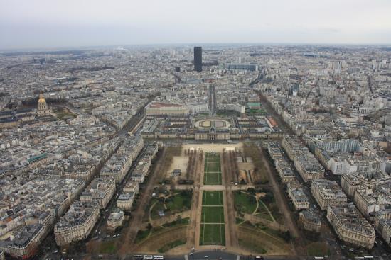 Paris, Frankreich: Vista dalla Tour Eiffel