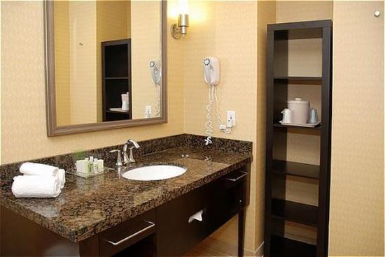 San Mateo, CA: Presidential Suite Guest Bathroom