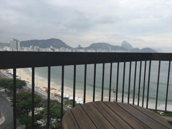 Sofitel Rio de Janeiro Copacabana : sacada do quarto