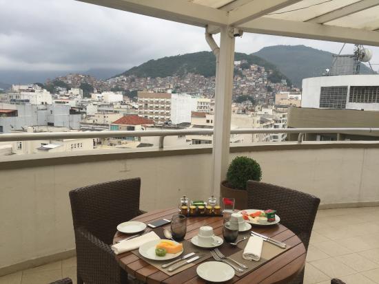 Sofitel Rio de Janeiro Copacabana : área do café da manhã