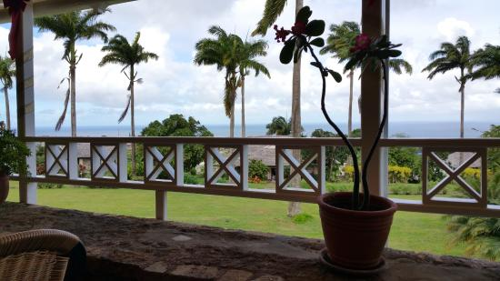 Ottley's Plantation Inn: View from dining room 2