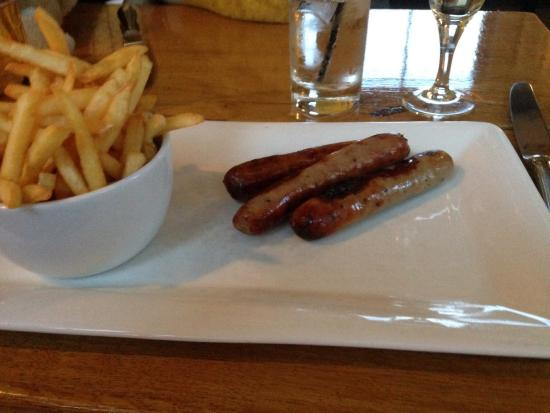 Port of Menteith, UK: Kids meal