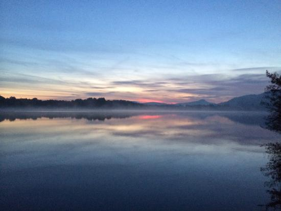 Port of Menteith, UK: View in hotel grounds