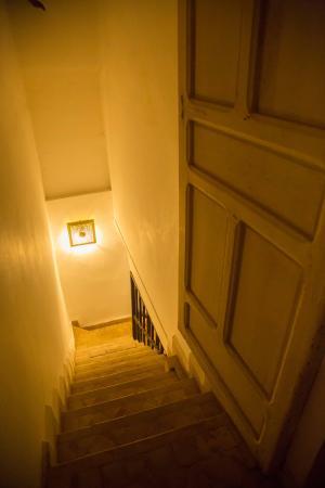 Riad de Vinci: stairway