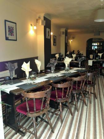 the stag and Pheasant inn: Dining