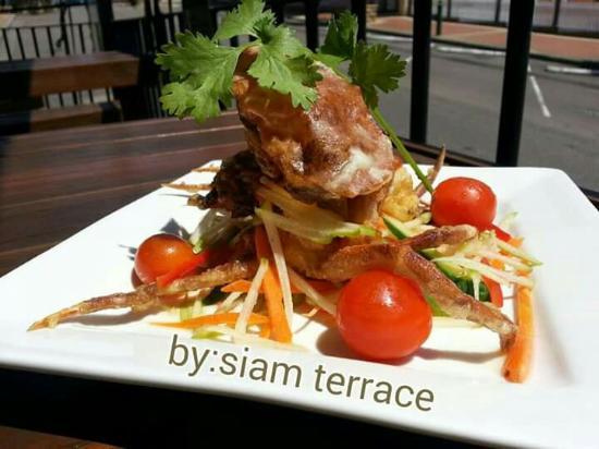 Wyong, ออสเตรเลีย: Sorf crab salad