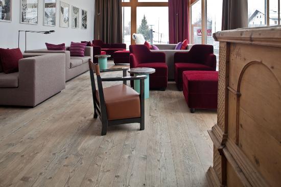 Hotel Gasthaus Krone : Lobi a la punt