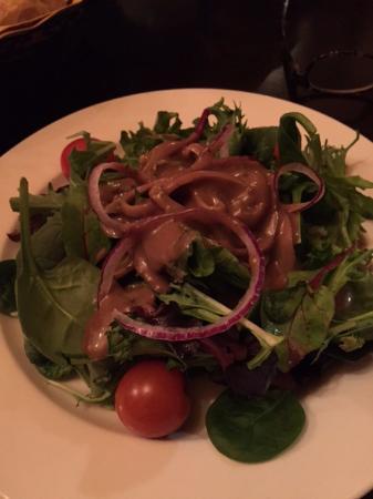Jim Thorpe, PA: Mixed greens salad