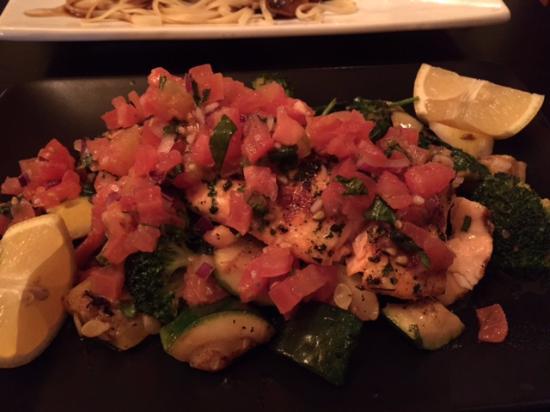 Jim Thorpe, PA: Grilled salmon