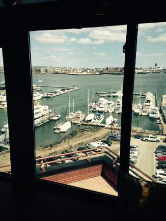 Boston Marriott Long Wharf: View from 7th floor executive lounge