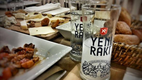 Cadde Baron Restaurant: .Traditional Turkish drink