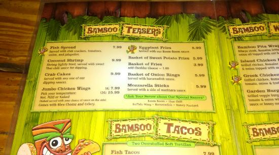 Bamboo Beach Bar and Grill: IMAG1488_large.jpg
