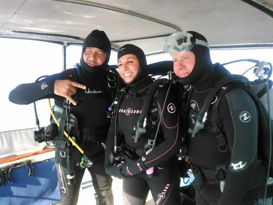 Hammond, Νέα Υόρκη: Enjoying Dives on the St Lawrence River