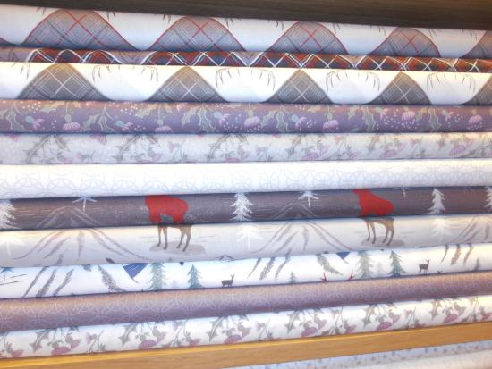 Kendal, UK: More lovely and a little different Christmas fabrics